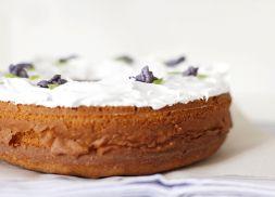 Изображение рецепта Фиалковый кекс