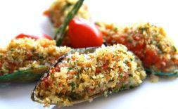 Изображение рецепта Мидии, запеченные с томатами
