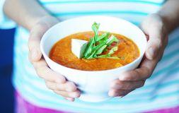 Изображение рецепта Суп-пюре из запеченой моркови