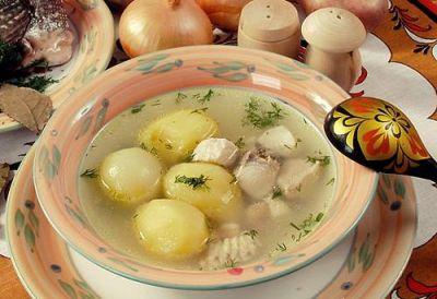Изображение рецепта ''Уха из щуки и сома''