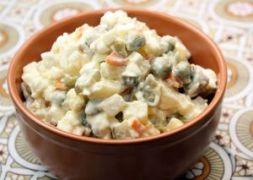 Изображение рецепта Зимний салат Оливье