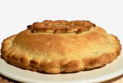 Изображение рецепта Пирог пресный со сморчками