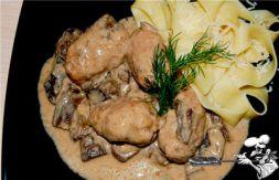 Изображение рецепта Сиченики в грибной подливе