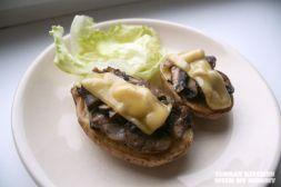 Изображение рецепта Картофель, запеченный с грибами и сыром