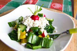 Изображение рецепта Весенний салат из черемши