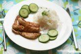 Острое куриное филе в соевом соусе