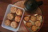 Печенье с кленовым сиропом (или сиропом агавы)