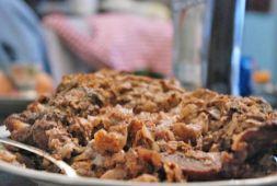 Изображение рецепта Баранья грудинка, фаршированная капустой и яблоками