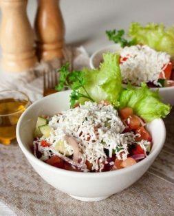 Изображение рецепта Шопский салат по-болгарски