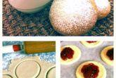 Творожное печенье с клубникой от Анастасии Зурабовой