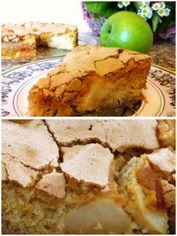 Изображение рецепта Шарлотка с яблоками от Анастасии Зурабовой