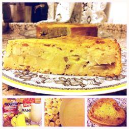 Изображение рецепта Банановый пирог на манке от Анастасии Зурабовой