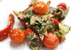 Изображение рецепта Гриль-салат из овощей