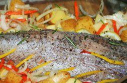 Изображение рецепта Треска, запеченная в духовке