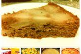 Постный бисквитный яблочный пирог от Анастасии Зурабовой