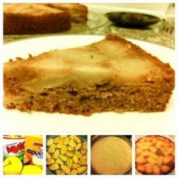Изображение рецепта Постный бисквитный яблочный пирог от Анастасии Зурабовой