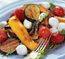 Изображение рецепта Салат из запеченных овощей