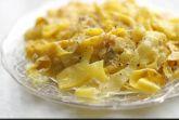 Изображение рецепта Квази-карбонара из кабачков-паппарделле