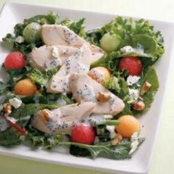 Изображение рецепта Маково-медовая заправка для салата