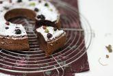 Изображение рецепта Шоколадный кекс с черной смородиной